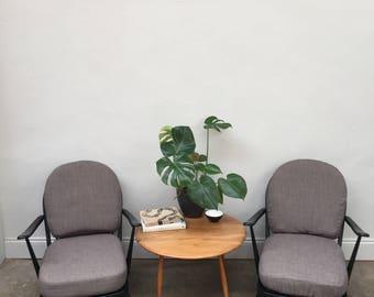 Ercol lounge chair black