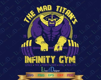 Marvel Avengers Infinity War SVG Avengers Thanos svg Thanos Gauntlet Thanos shirt Thanos clipart Infinity GYM svg eps pdf png cut files