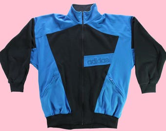 Vintage Late 80s early 90s Adidas Track Top