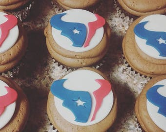Texans Cupcake Toppers