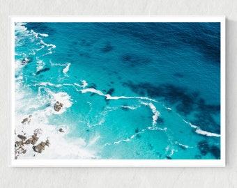 Ocean Wall Art, Ocean Print, Ocean Printable, Ocean Digital Print, Wave Art, Wave Print, Wave Wall Art, Ocean Poster, Ocean Photo, Wave Art