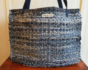 Denim Tote Bag #7