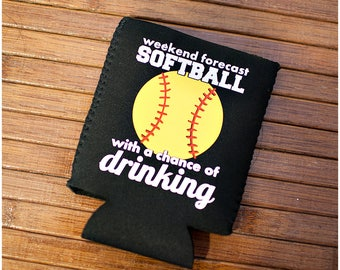 Weekend Softball Can Cooler