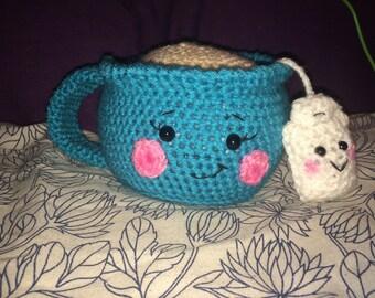 Amigurumi Cup Of Tea and Teabag