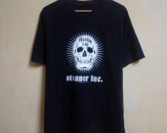 Rare!! WWE Stone Cold Steve Austin 3:16 T Shirt Stunner Inc. WWF Legend