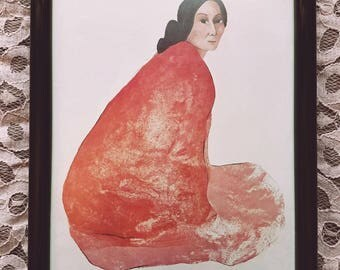 Framed Art Print / R.C. Gorman ~ The Lithographs Book Cover Poster