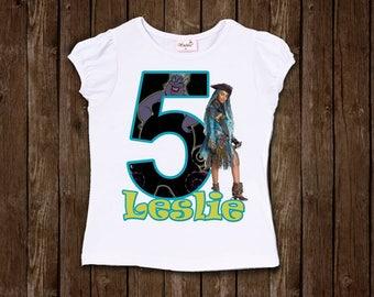 inspired by descendants uma birthday shirt birthday shirt ursula's daughter