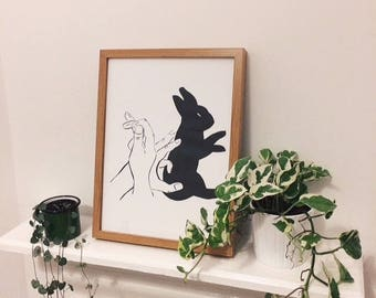 Shadow Puppet - Rabbit