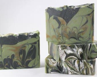 Winter Woods - Pine Citrus - Vegan, Luxury, Moisturizing Oils - Artisan Soap Bar