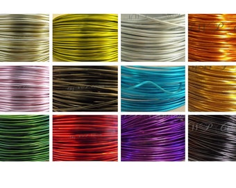 2 meters x 2 mm aluminum wire