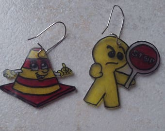 These earrings fun highway code