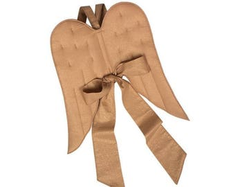 fabric Angel Wings, old gold, costume