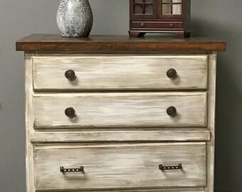 Rustic Tall Dresser