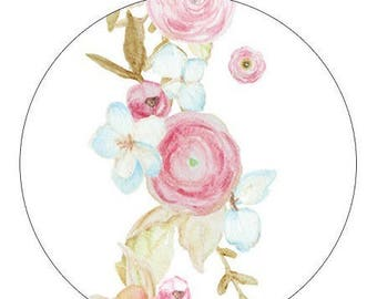 1 roll of masking tape (washi) theme flowers 15mm * 10metres