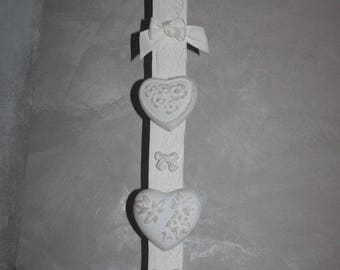 Garland of hearts plaster diffuser scent
