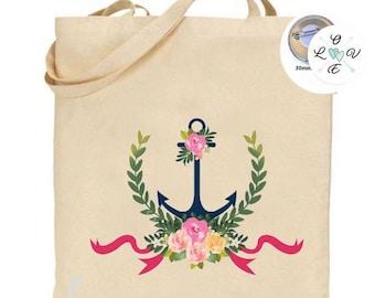 Tote bag anchor, Navy anchor beach bag