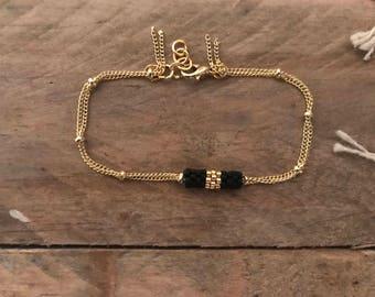 •NAZCA • Gold Bracelet