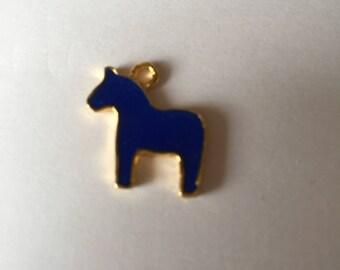 Dark Royal Blue horse