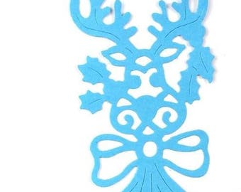 Cut scrapbooking Christmas decoration