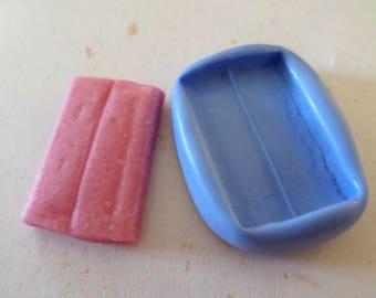 Mold for polymer clay malabar 3.5 cm