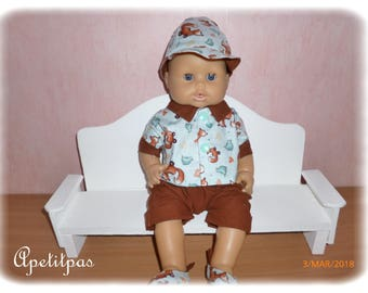 PAUL Corolla (36cm) doll clothes