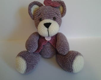 birthday gift, bear cub rosewood, with room decoration