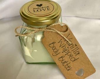 Organic Vanilla Whipped Body Butter