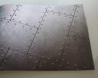 Navy paper PLANCHET origami or scrapbooking
