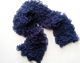 Blue Flamenco scarf