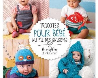 Knitting book no. 840 knit baby phildar