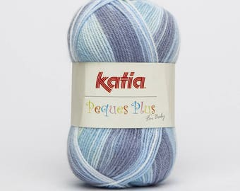 Wool Plus blue 56 Katia Peques