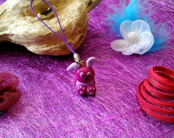 Wearable jewellery or bag Bunny