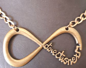 To infinity... we love this pretty necklace!