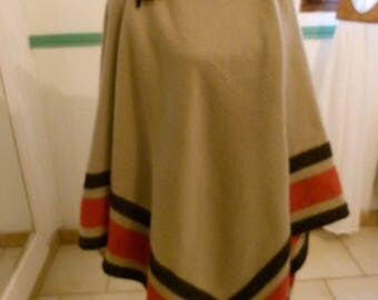 Native American poncho fabric