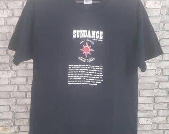 Vintage rare 90s sundance harley davidson shirt