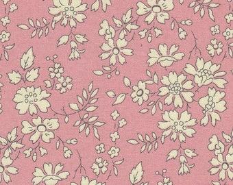 coupon powder pink LIBERTY capel design fabric