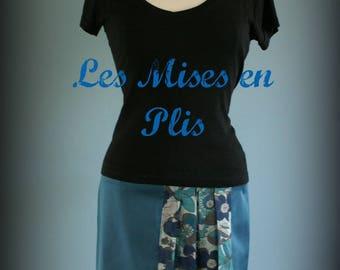 Blue Duck and flower skirt
