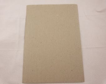 Corrugated kraft A4 sheet