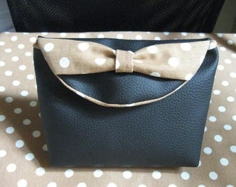 Lovely faux leather makeup case