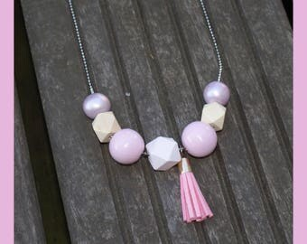 """belle in pink"" necklace"