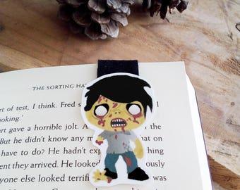 Zombie magnetic bookmark