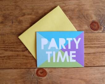 handwritten - party invite