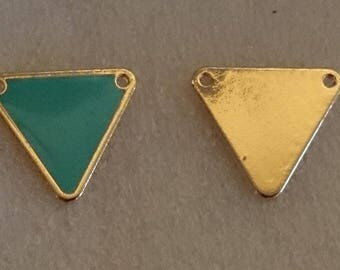 Pendants/metal with epoxy ± 18x20mm in-between (eyes ± 1 mm)