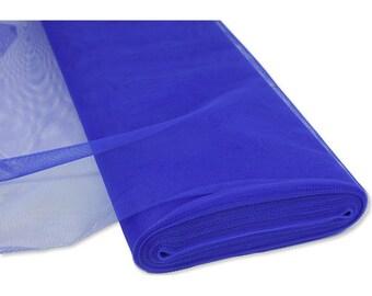 Blue Gypsy tulle width 120 cm