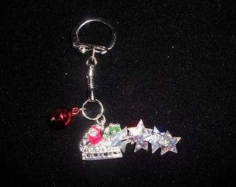 the Santa key