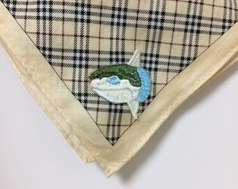 Sea life miniature [ Sun fish ] embroidery patch