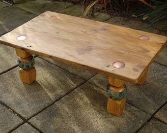 Hand made, individual style coffee table