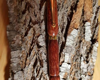 Handmade, Rare wood twist style ballpoint pen Beefwood a Grevillea species from Queensland