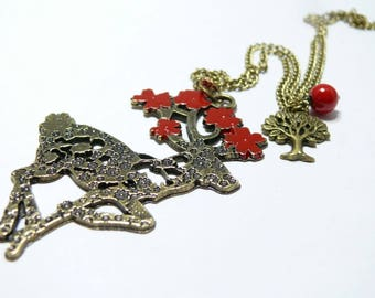 The enchanted forest necklace