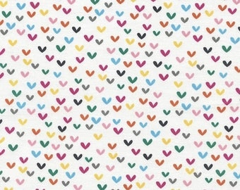 Patchwork hearts Timeless Treasures fabric